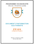 document d'information aux parents